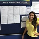 Beatrice Pompeu Luz, estudante de Direito da Estácio pelo Quero Bolsa | Blog Zé Moleza