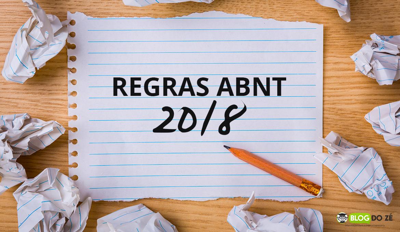 Conheça as regras para TCC e MONOGRAFIA da ABNT 2018