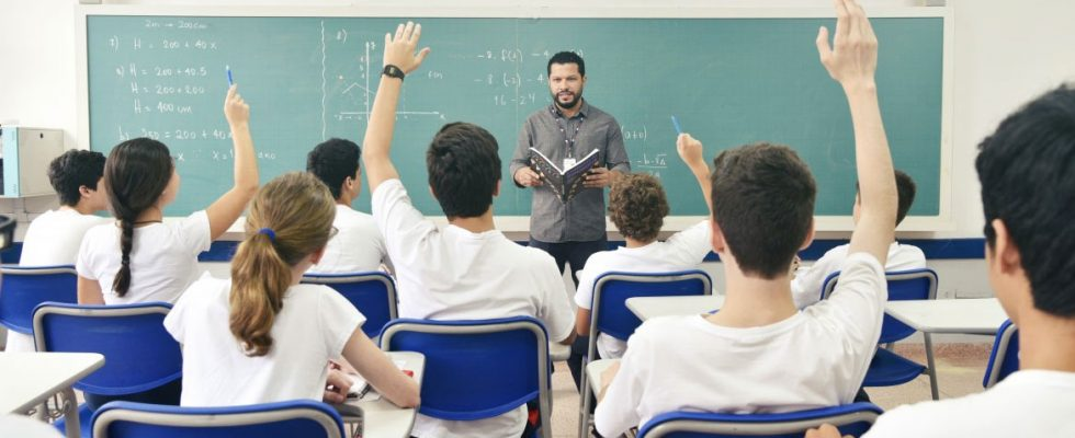 relação professor aluno